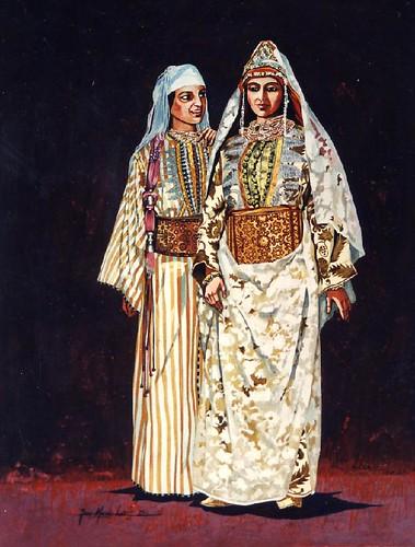 femmes Jbala en costume de fête