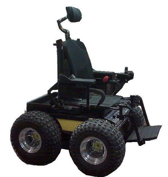 All terrain wheelchair flickr photo sharing for All terrain motorized wheelchairs