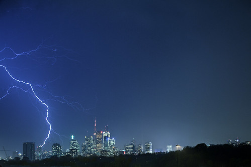 Toronto Lightning strike