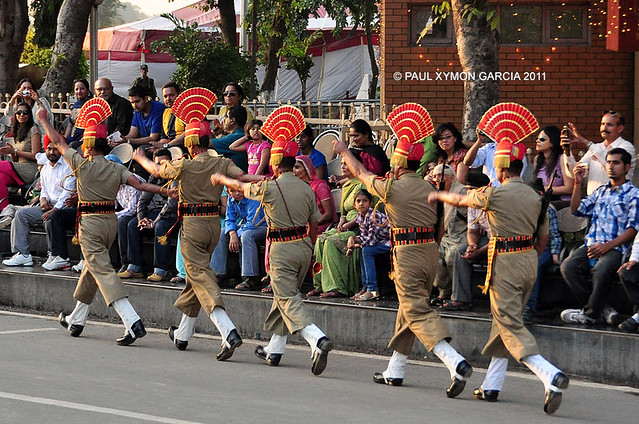 India-Pakistan Border Closing Ceremony, Wagah, India