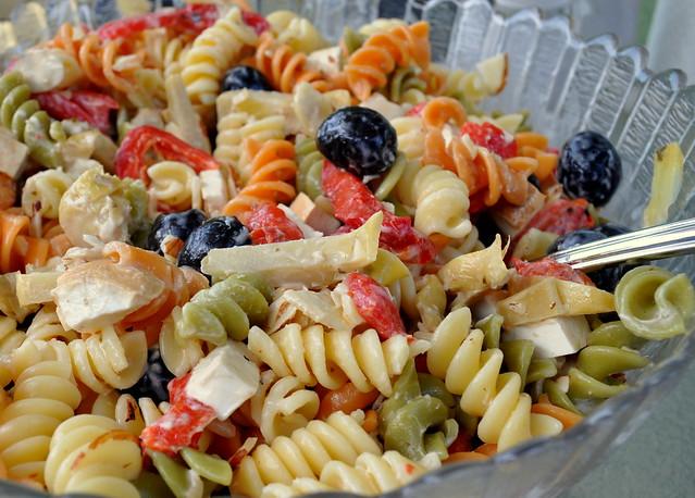 A summer pasta