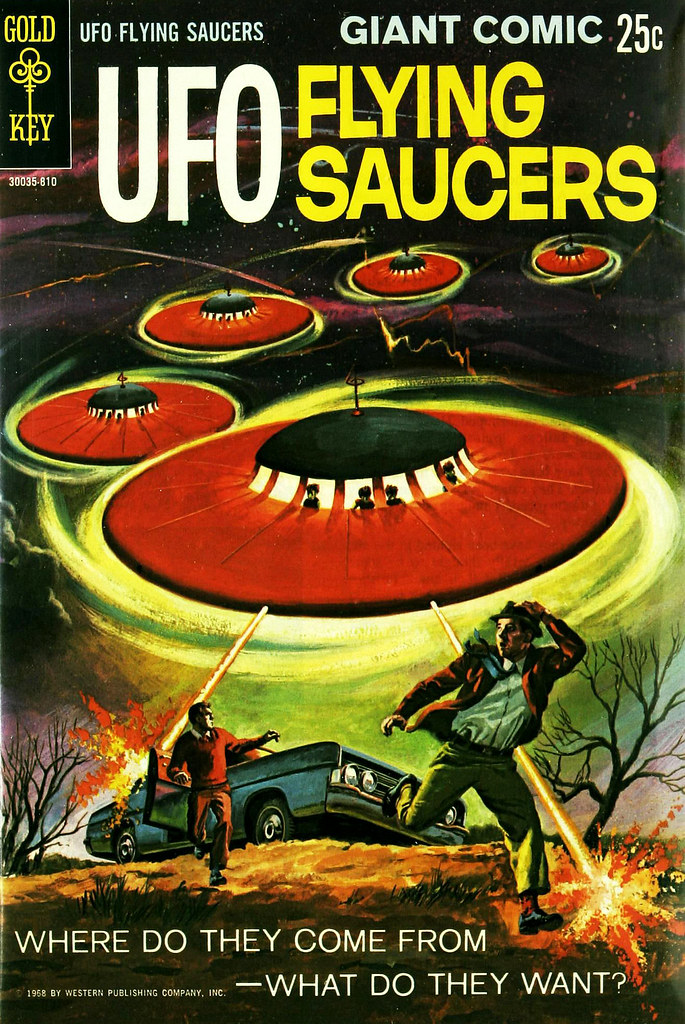 UFO Flying Saucers #1 (Gold Key, 1968)