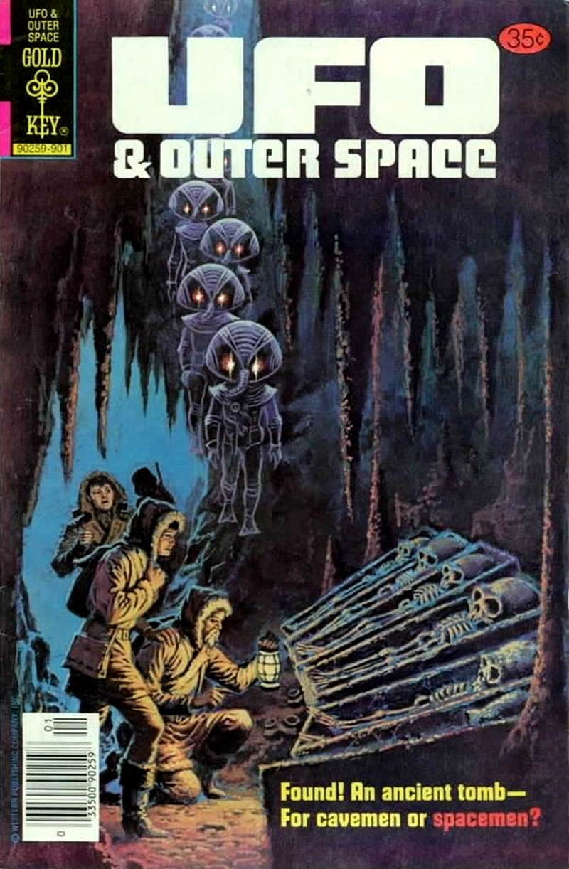 UFO and Outer Space #19 (Gold Key, 1978)
