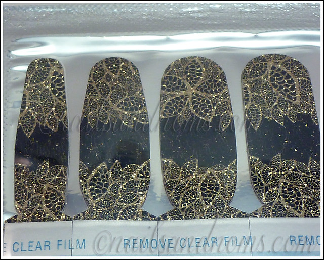 OPI Pure Lacquer Nail Apps - Gold Lace 5