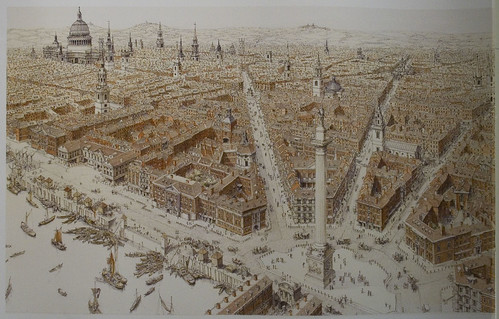 What London could have looked like if Wren's post fire layout had been adopted
