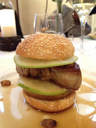 Le Foch: Foie Gras Burger