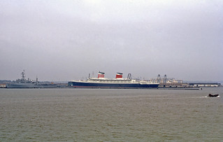 SS United States at Hampton Roads