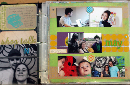 Project Life 2012 | May Cover Page
