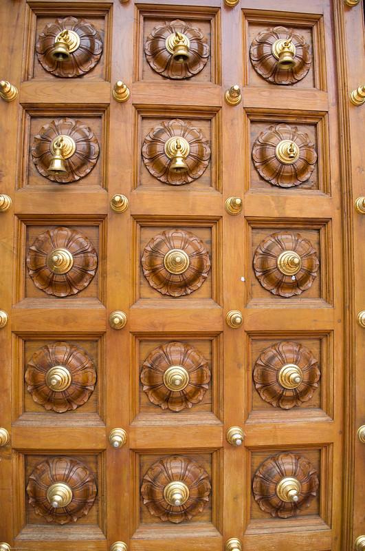 Sri Mariamman Temple door