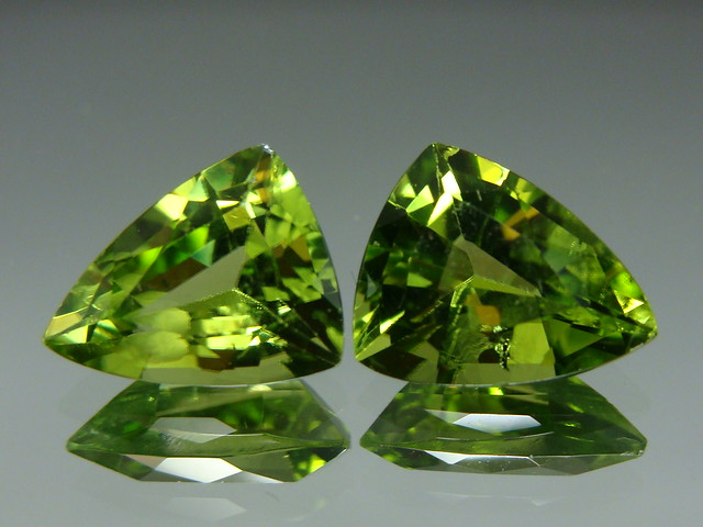 Peridot from china 10x8mm