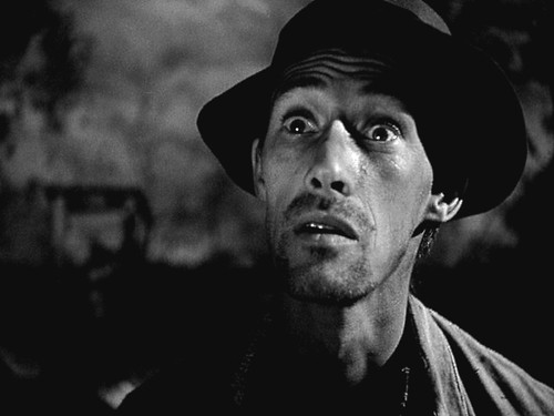 John Carradine, in The Grapes of Wrath