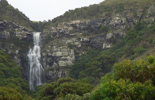 Waterfall on The Great Ocean Road