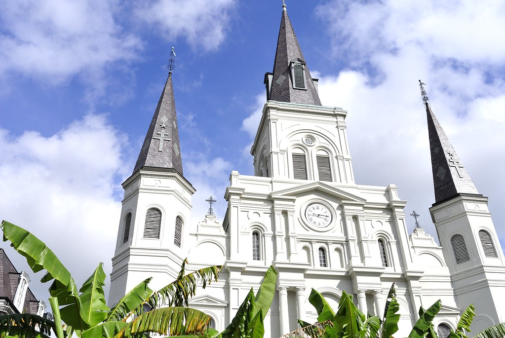 St. Louis Cathedral. New Orleans.