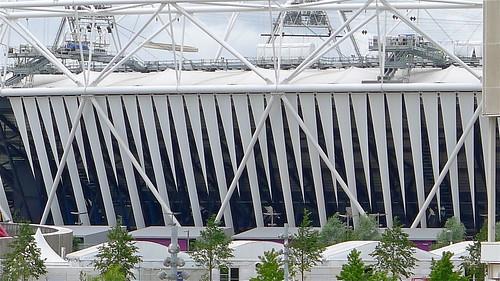 Olympic stadium wrap