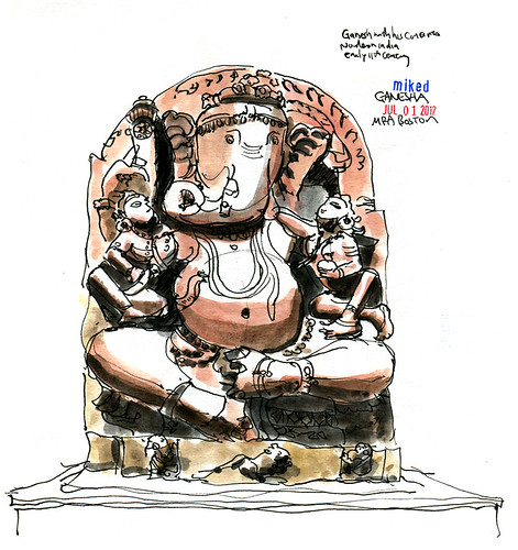 Museum of Fine Arts: Ganesha Sculpture by mike__d