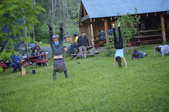 Hand Stand Competition