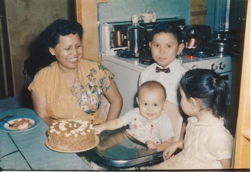 Spences 1st birthday