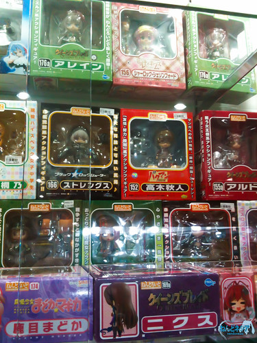 Nendoroid for sale at a figure store