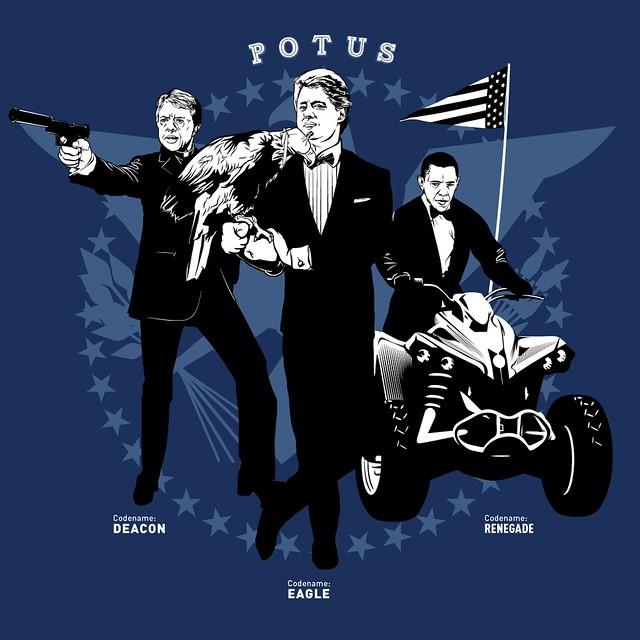 Presidential Secret Agent Names: POTUS Team Blue