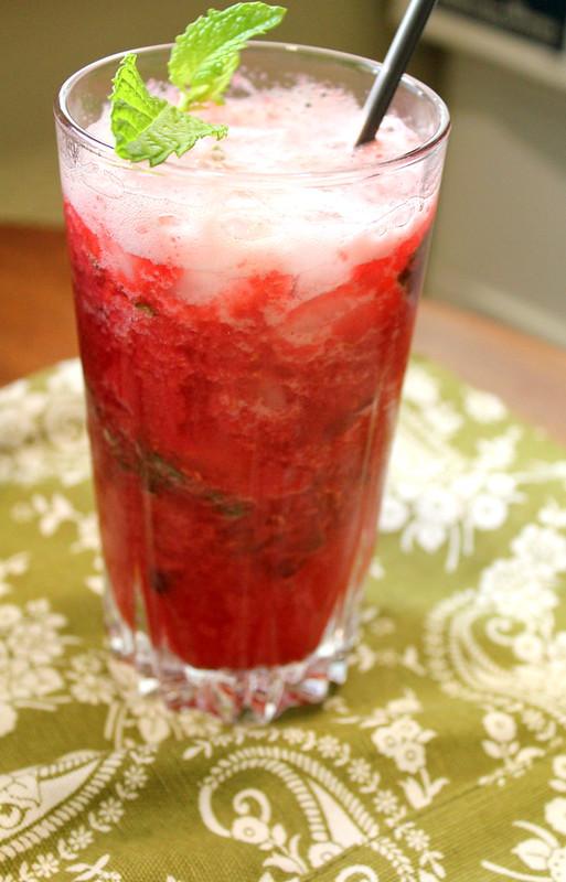 raspberry drink