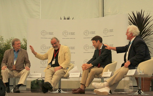 In a lively debate Carlo Rubbia, Geoffrey Carr, Georg Sütte, Robert Laughlin discuss the future of energy.