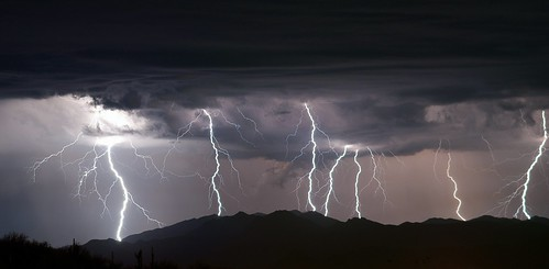 summer arizona storm mountains southwest phoenix weather night landscape desert sony north american monsoon heat bolt thunderstorm lightning alpha sonoran a390 mazatzal arizonapassages