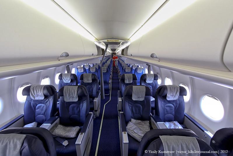 Inside Aeroflot's Sukhoi SuperJet 100