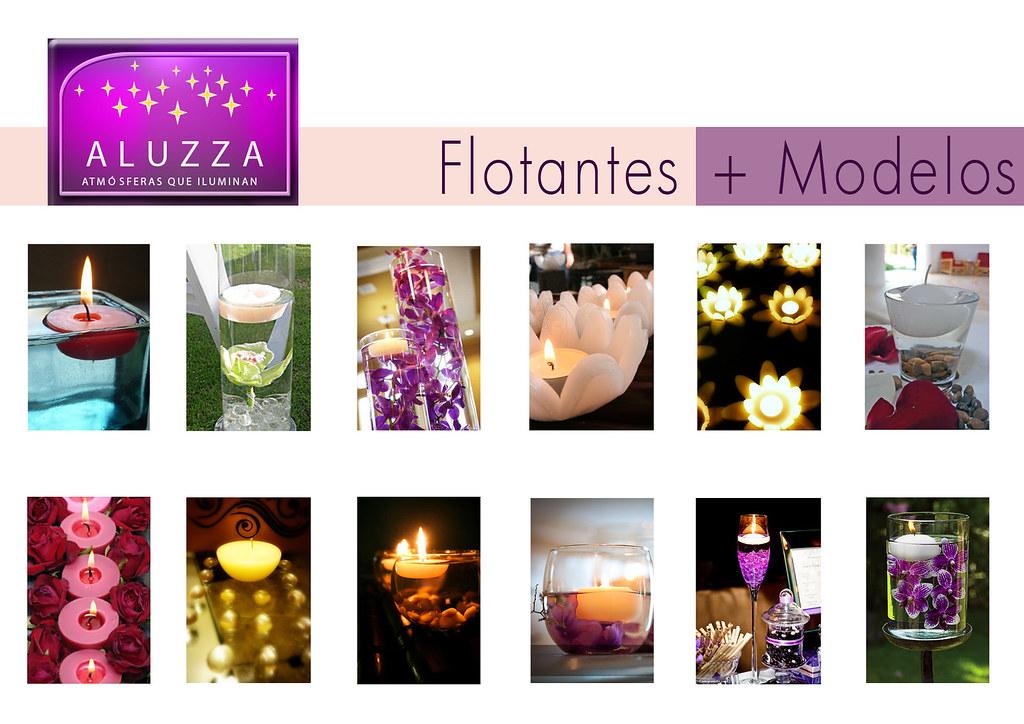 mas modelos de velas flotantes