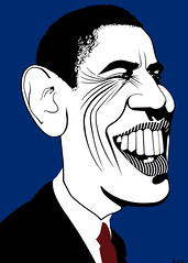 Barack Obama - Caricature