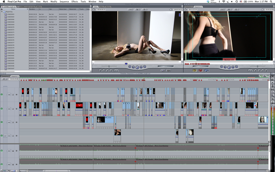 Inside look at the editing process for Condition One in FCP7