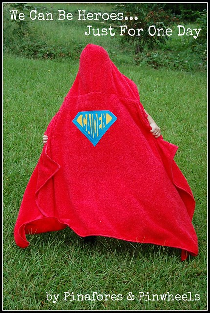Superhero Towel 4