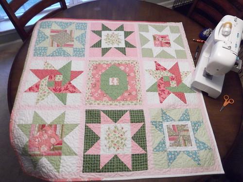 HSV baby quilt
