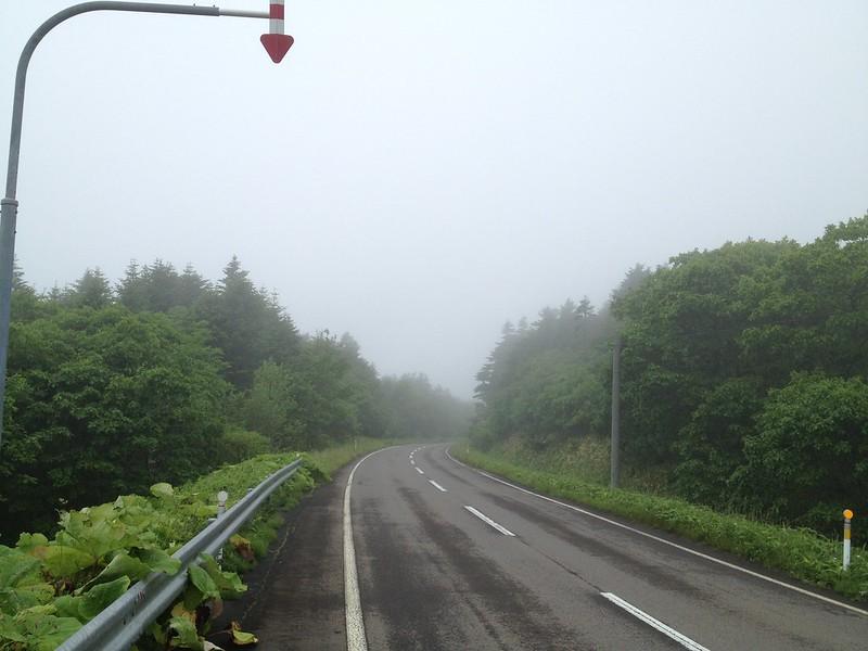 北太平洋シーサイドラインの道