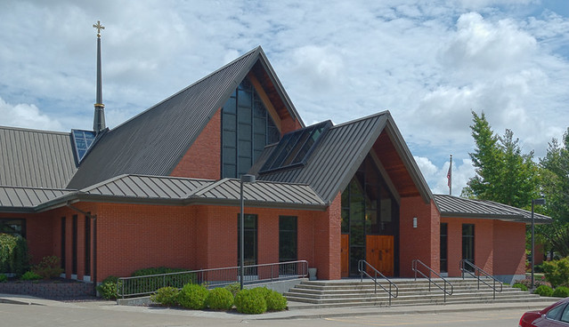 Saint Vincent de Paul Roman Catholic Church, in Perryville, Missouri, USA - exterior