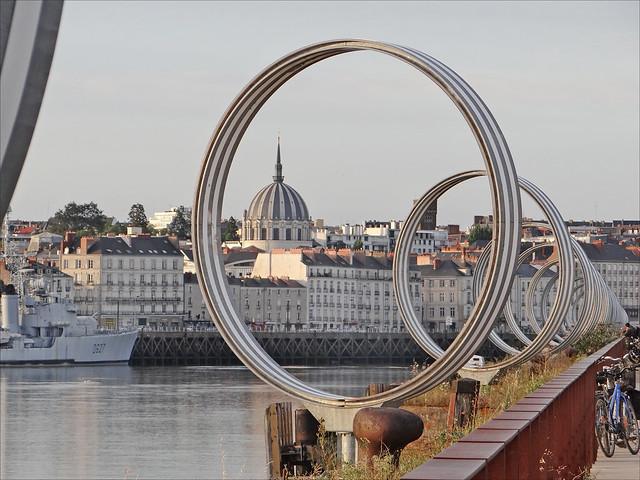 Les Anneaux (Estuaire, Nantes)
