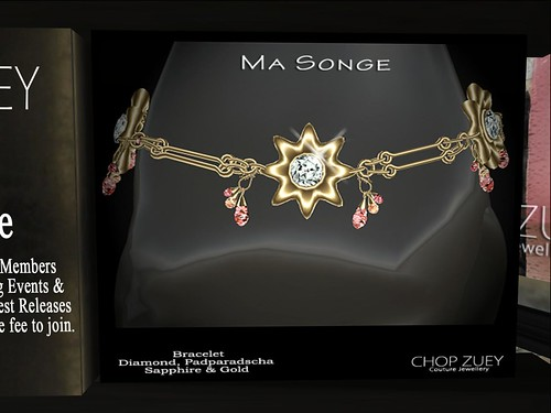 Ma Songe Gld Bracelet by Cherokeeh Asteria