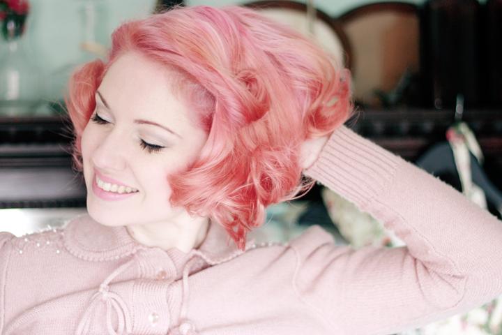 pink hair b