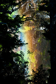 Narada Falls Rainbow