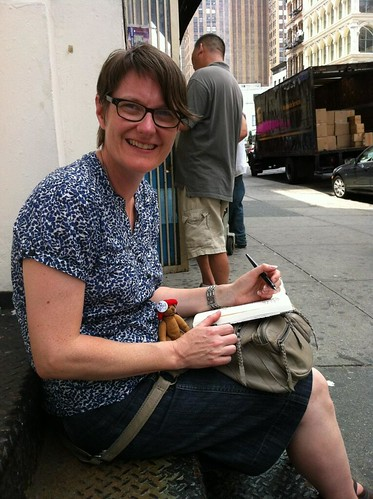 NYCD1 Third stop sketching on the streets_Me