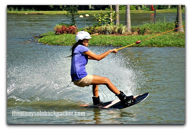 Wakeboarding in Davao City