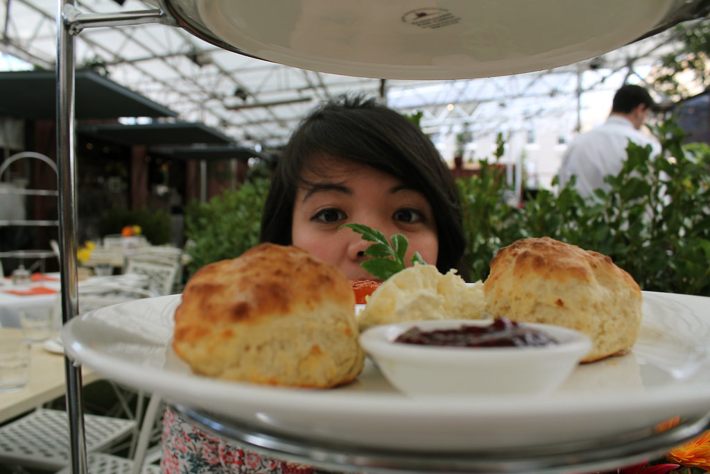scones and pin