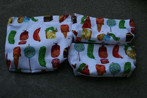 Hungry Caterpillar Sandwich and snack bag set
