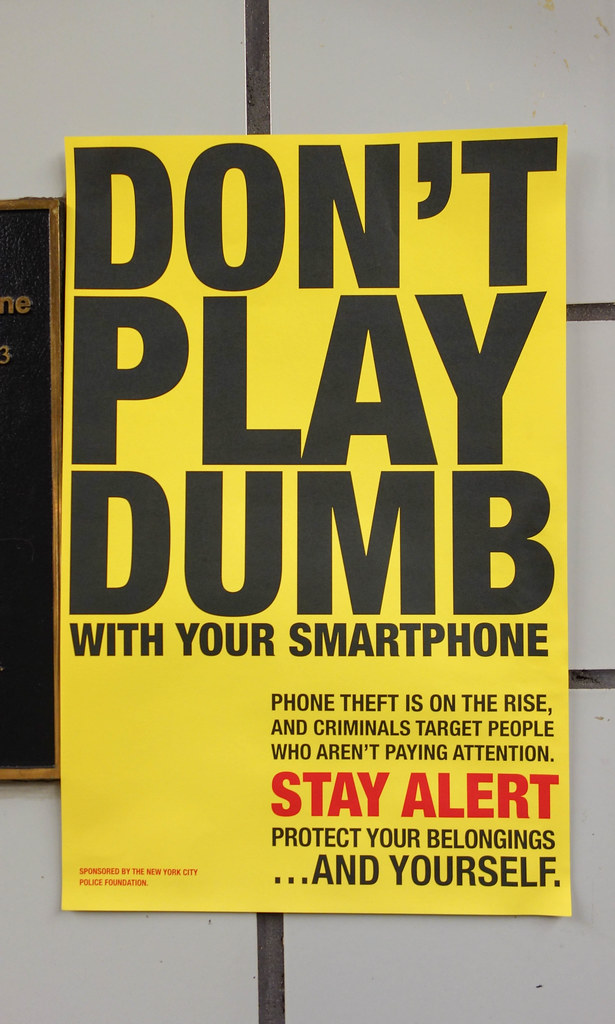 Don't Play Dumb With Your Smartphone