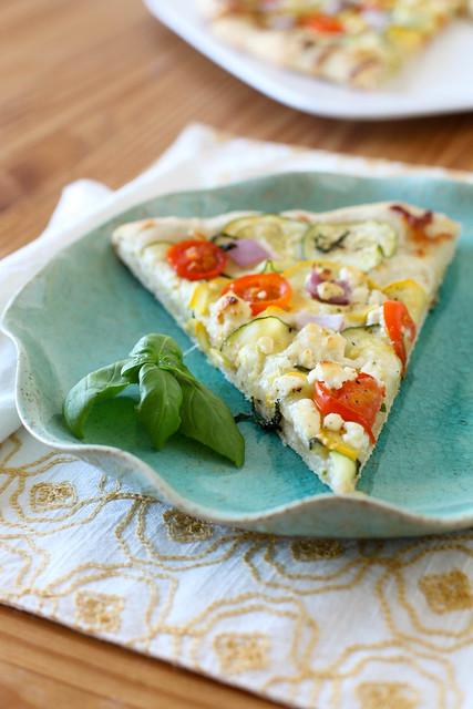 Garden Veggie Pizza