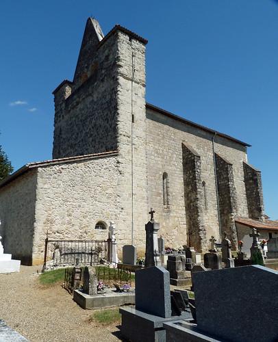 Antagnac - L'Eglise Saint Jean Baptiste 02
