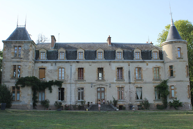 Chateaux au Cerilly, France