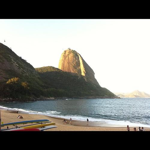 Praia vermelha & Morro do Pão de Açúcar