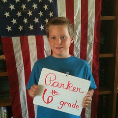 Happy 6th Grade Parker #homeschool #hsmommas