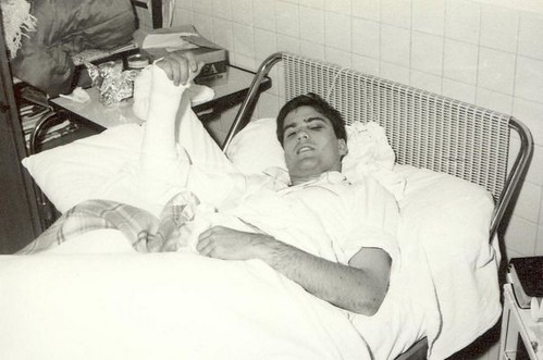 Romney in Bazas ward bed 1968