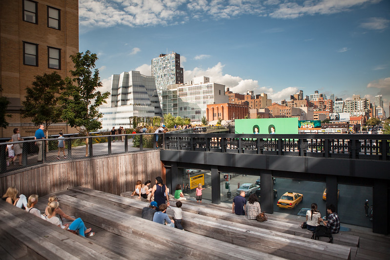 The Urban Theater at the High Line Park